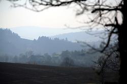 CZECH REPUBLIC VYSOCINA NEDVEZI 31OCT09 - Perspective overlooking the valley near the village of Nedvezi, Vysocina, Czech Republic. ..jre/Photo by Jiri Rezac..© Jiri Rezac 2009