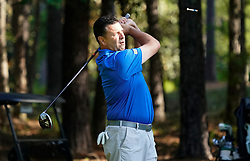Former Pitt quarterback John Congemi during the Chick-fil-A Peach Bowl Challenge at the Ritz Carlton Reynolds, Lake Oconee, on Tuesday, April 30, 2019, in Greensboro, GA. (Paul Abell via Abell Images for Chick-fil-A Peach Bowl Challenge)