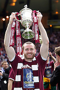 The William Hill Scottish FA Cup Final 2012 Hibernian Football Club v Heart Of Midlothian Football Club..19-05-12...Hearts Craig Beattie        during the William Hill Scottish FA Cup Final 2012 between (SPL) Scottish Premier League clubs Hibernian FC and Heart Of Midlothian FC. It's the first all Edinburgh Final since 1986 which Hearts won 3-1. Hearts bid to win the trophy since their last victory in 2006, and Hibs aim to win the Scottish Cup for the first time since 1902....At The Scottish National Stadium, Hampden Park, Glasgow...Picture Mark Davison/ ProLens PhotoAgency/ PLPA.Saturday 19th May 2012.