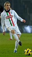 Milos Krasic<br /> Juventus vs Lazio - Campionato Serie A 2010 / 2011<br /> Stadio Olimpico, Torino, 12/12/2010<br /> © Filippo Alfero / Insidefoto