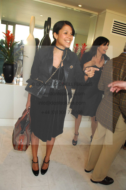 LISA MOORISH at a party to celebrate the publication of 'All That Glitters' by Pearl Lowe held at the May Fair Hotel, London on 8th July 2007.<br /><br />NON EXCLUSIVE - WORLD RIGHTS