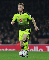 Football - 2016 / 2017 League [EFL] Cup - Fourth Round: Arsenal vs. Reading<br /> <br /> Stephen Quinn of Reading at The Emirates.<br /> <br /> COLORSPORT/ANDREW COWIE