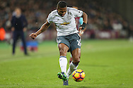 Luis Antonio Valencia of Manchester United in action. Premier league match, West Ham Utd v Manchester Utd at the London Stadium, Queen Elizabeth Olympic Park in London on Monday 2nd January 2017.<br /> pic by John Patrick Fletcher, Andrew Orchard sports photography.