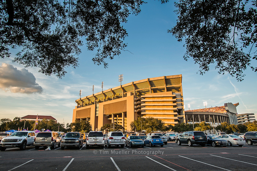 """Tiger Stadium is the home stadium of the LSU fighting Tigers football team. The Stadium is known as """"Death Valley"""" and is located on the campus of Louisiana State University in Baton Rouge, La."""