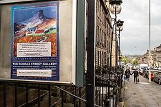 Art exhibition goes on-line, Edinburgh, 30 April 2020