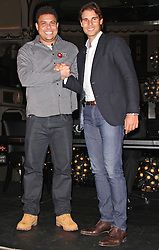 Rafa Nadal, Ronaldo, Rafa Nadal Vs. Ronaldo - Poker Duel, The Hippodrome Casino, London UK, 18 November 2014, Photo By Brett D. Cove ©under licence to London News Pictures. +44 (0)208 408 0190