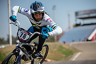 #78 (REIS SANTOS Paola) BRA  at Round 9 of the 2019 UCI BMX Supercross World Cup in Santiago del Estero, Argentina