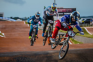 #3 (ANDRE Sylvain) FRA [Wiawis, Lead, Tangent] at Round 8 of the 2019 UCI BMX Supercross World Cup in Rock Hill, USA