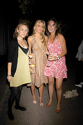 CHARLIE BANKS, KAYLEIGH CURNEEN and ELLY WEBSTER at a Summer BBQ for Kitts nightclub hosted by Chalie Gilkes and Duncan Stirling at the Hurlingham Club, London on 31st August 2007.<br /><br />NON EXCLUSIVE - WORLD RIGHTS
