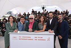 May 18, 2019 - Cannes, France - 72eme Festival International du Film de Cannes. Photocall du film ''Douleur et Gloire''. 72th International Cannes Film Festival. Photocall of ''Dolor y gloria'' movie....239404 2019-05-18  Cannes France.. Banderas, Antonio; Almodovar, Pedro; Sbaraglia, Leonardo; Etxeandia, Asier; Navas, Nora (Credit Image: © Serge Arnal/Starface via ZUMA Press)