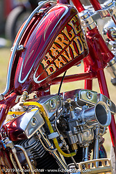 Invited custom bikes on display at the Boogie East Chopper Show at Annie Oakley's Saloon in Ormond Beach during Daytona Beach Bike Week, FL. USA. Friday, March 15, 2019. Photography ©2019 Michael Lichter.