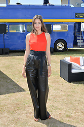 ASTRID MUÑOZ at the Jaeger-LeCoultre Gold Cup Polo Final held at Cowdray Park Polo Club, Midhurst, West Sussex on 19th July 2015