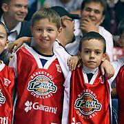 Anadolu Efes's and Pinar Karsiyaka's during their Turkey Cup Qualifying basketball second match Anadolu Efes between Pinar Karsiyaka at Aliaga Arena in Izmir, Turkey, Monday, October 10, 2011. Photo by TURKPIX