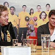 NLD/Amsterdam/20110314 - Presentatie nieuwe Helden en 14 jarig bestaan Johan Cruijff Foundation, Peter Heerschop en Viggo Waas