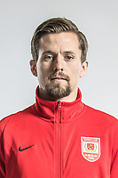 **EXCLUSIVE**Portrait of Danish soccer player Lasse Vibe of Changchun Yatai F.C. for the 2018 Chinese Football Association Super League, in Wuhan city, central China's Hubei province, 22 February 2018.