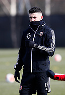 John Egan of Sheffield Utd during a training session at the Steelphalt Academy, Sheffield. Picture date: 5th March 2020. Picture credit should read: Simon Bellis/Sportimage