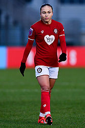 Ebony Salmon of Bristol City - Mandatory by-line: Ryan Hiscott/JMP - 08/12/2019 - FOOTBALL - Stoke Gifford Stadium - Bristol, England - Bristol City Women v Birmingham City Women - Barclays FA Women's Super League