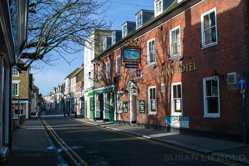 A street in Hythe, England.