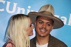 NBCUniversal Summer Press Day at Universal Studios in Universal City, California on 5/2/18. 02 May 2018 Pictured: Ashlee Simpson, Evan Ross. Photo credit: River / MEGA TheMegaAgency.com +1 888 505 6342