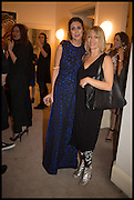VALERIA NAPOLEONE; KIM GORDON, Frieze dinner  hosted at by Valeria Napoleone for  Marvin Gaye Chetwynd, Anne Collier and Studio Voltaire 20th anniversary autumn programme. Kensington. London. 14 October 2014.