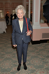 EVE BRANSON at the Oldie Magazine's Oldie of The Year Awards held at Simpson's In The Strand, London on 4th February 2014.