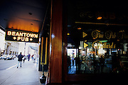 Image of the popular Beantown Pub along Boston's historic Freedom Trail, Boston, Massachusetts, New England by Andrea Wells