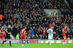 5,300 Bristol City fans travel to the West Brom game - Mandatory byline: Dougie Allward/JMP - 09/01/2016 - FOOTBALL - The Hawthorns - Birmingham, England - West Brom v Bristol City - FA Cup Third Round