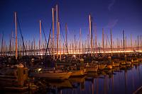 South Beach Harbor, Twilight