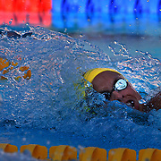 Libby Trickett winning her 100m Freestyle Semi Final at World Swimming Championships in Rome on Thursday, July 30, 2009. Photo Tim Clayton.