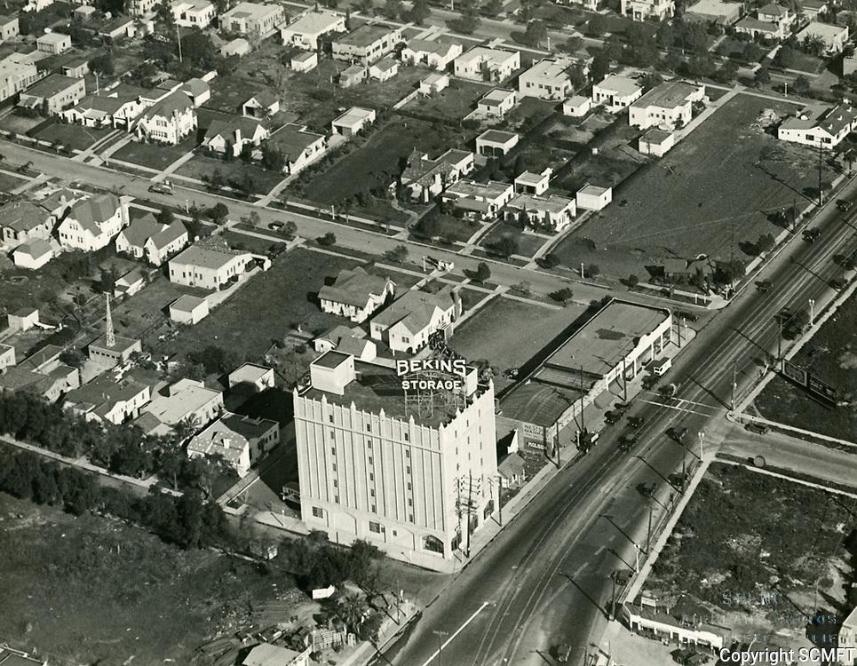 1928 Bekins Storage at 8431 Santa Monica Blvd. in West Hollywood