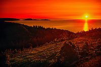 Sunrise, Cabot Trail, near Ingonish Ferry, Cape Breton Island, Nova Scotia, Canada