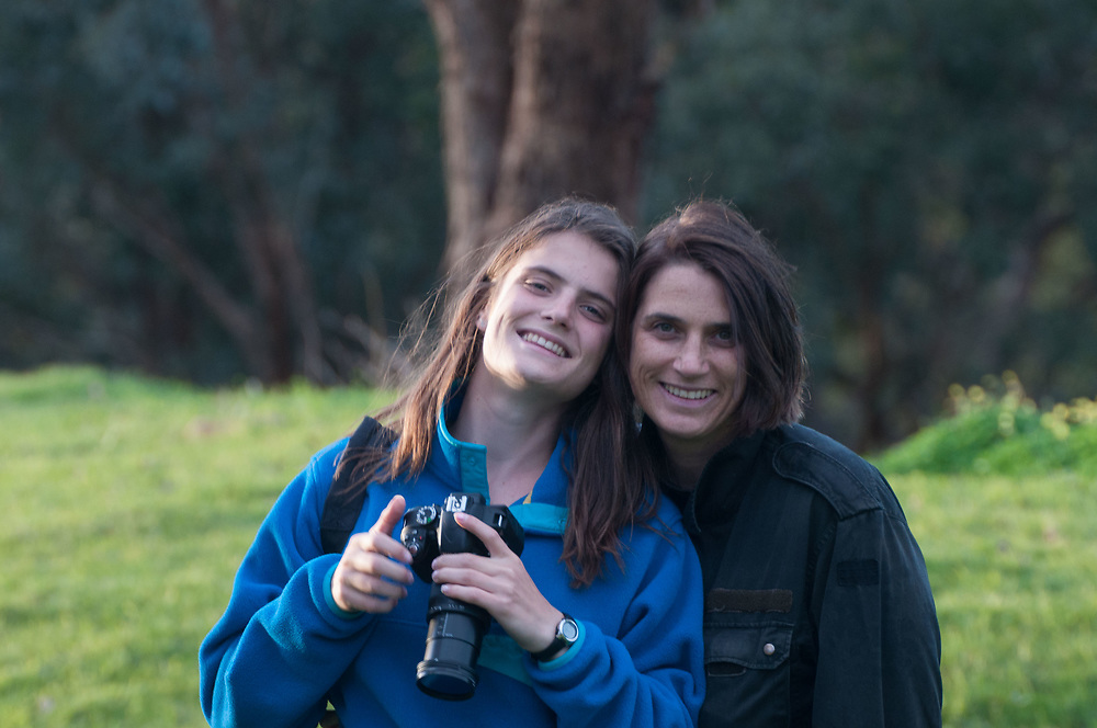 Eliza & Alex, Eltham College Environmental Reserve, Research, Victoria, Australia