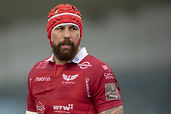September 22, 2018 - Galway, Ireland - Blade Thomson of Scarlets pictured during the Guinness PRO14 match between Connacht Rugby and Scarlets at the Sportsground in Galway, Ireland on September 22, 2018  (Credit Image: © Andrew Surma/NurPhoto/ZUMA Press)
