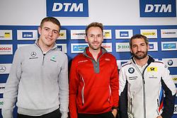 October 13, 2017 - Motorsports: DTM race Nuerburgring, Saison 2017 - 9. Event Hockenheimring, GER, # 33 Rene Rast (GER, Audi Sport Team Rosberg, Audi RS5 DTM), # 16 Timo Glock (GER, BMW Team RMR, BMW M4 DTM), # 3 Paul di Resta (GBR, HWA AG, Mercedes-AMG C63 DTM) (Credit Image: © Hoch Zwei via ZUMA Wire)