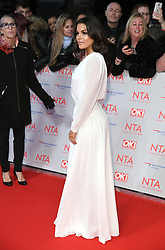Faye Brookes attending the National Television Awards 2018 held at the O2, London. Photo credit should read: Doug Peters/EMPICS Entertainment
