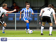 Billy Waters during the Pre-Season Friendly match between Weston Super Mare and Cheltenham Town at the Woodspring Stadium, Weston Super Mare, United Kingdom on 18 July 2015. Photo by Carl Hewlett
