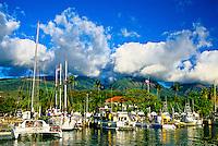 Harbor, Lahaina, Maui, Hawaii USA