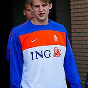 NLD/Katwijk/20100809 - Training van het Nederlands elftal, Glenn Loovens