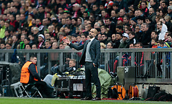 04.11.2015, Allianz Arena, Muenchen, GER, UEFA CL, FC Bayern Muenchen vs FC Arsenal, Gruppe F, im Bild Trainer Josep Pep Guardiola (FC Bayern) // during the UEFA Champions League group F match between FC Bayern Munich and FC Arsenal at the Allianz Arena in Munich, Germany on 2015/11/04. EXPA Pictures © 2015, PhotoCredit: EXPA/ JFK