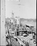 ackroyd-P423-21. July 26, 1968 Ship repair at Swan Island drydock