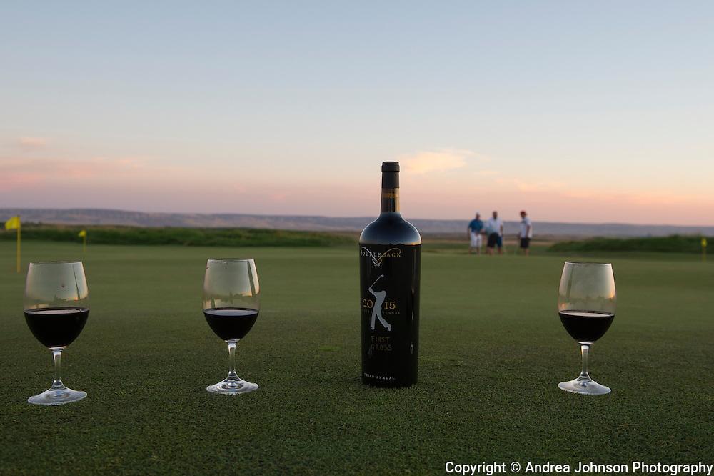 Doubleback golf tournament & cellar club party 2015, Walla Walla,Washington