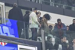 November 26, 2019, Turin, italy: Rihanna at the Allianz Stadium to see Juventus - Atletico Madrid In the Photo: Robyn Rihanna Fenty (Credit Image: © Riccardo Giordano/IPA via ZUMA Press)