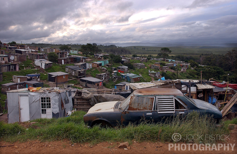 SOUTH AFRICA - Despite ten years of living under a democratically elected government, most blacks still live in extreme poverty and HIV / AIDS is the largest health problem in the country. (PHOTO © JOCK FISTICK)