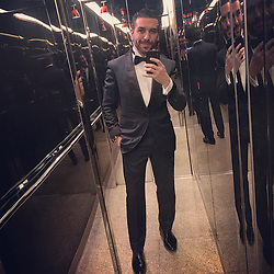 """Elyas M'Barek releases a photo on Instagram with the following caption: """"#l\u00e4uft"""". Photo Credit: Instagram *** No USA Distribution *** For Editorial Use Only *** Not to be Published in Books or Photo Books ***  Please note: Fees charged by the agency are for the agency's services only, and do not, nor are they intended to, convey to the user any ownership of Copyright or License in the material. The agency does not claim any ownership including but not limited to Copyright or License in the attached material. By publishing this material you expressly agree to indemnify and to hold the agency and its directors, shareholders and employees harmless from any loss, claims, damages, demands, expenses (including legal fees), or any causes of action or allegation against the agency arising out of or connected in any way with publication of the material."""