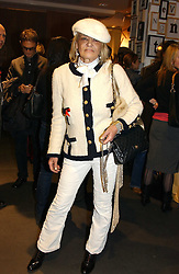 ANITA PALLENBERG at a Topshop hosted Jumbo Thrift Sale - a sale of designer fashion, in association with the Terence Higgins Trust for World Aids Day, held at Topshop, Oxford Circus, London on 1st December 2004.<br /><br />NON EXCLUSIVE - WORLD RIGHTS