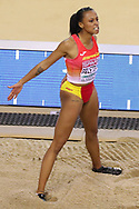 Ana Peleteiro (Spain) Women's Triple Jump, during the European Athletics Indoor Championships at Emirates Arena, Glasgow, United Kingdom on 3 March 2019.
