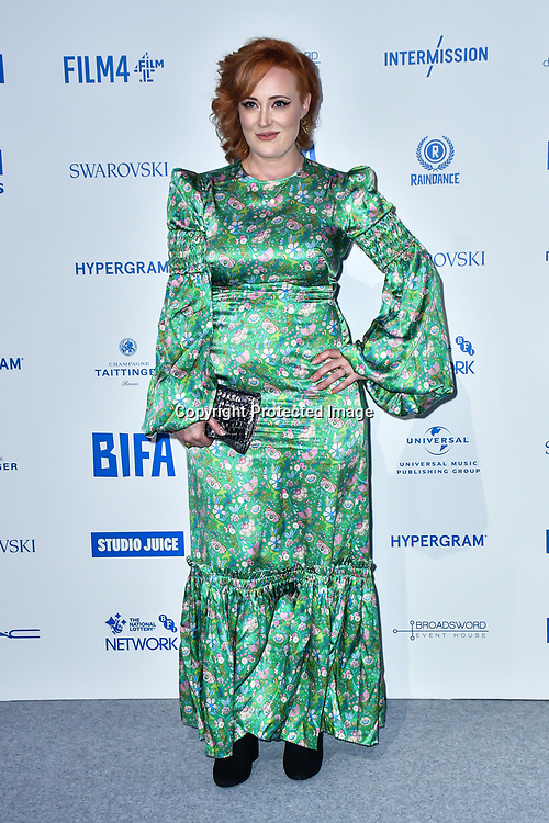 Emma Jane Unsworth attends the 22nd British Independent Film Awards at Old Billingsgate on December 01, 2019 in London, England.