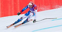 12.02.2011, Kandahar, Garmisch Partenkirchen, GER, FIS Alpin Ski WM 2011, GAP, Herren Abfahrt, im Bild Silvan Zurbriggen (SUI) // Silvan Zurbriggen (SUI) during mens Downhill, Fis Alpine Ski World Championships in Garmisch Partenkirchen, Germany on 12/2/2011, 2011, EXPA Pictures © 2011, PhotoCredit: EXPA/ J. Feichter