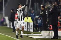 esultanza gol Paulo Dybala Juventus Goal celebration, Massimiliano Allegri <br /> Torino 20-12-2017 Allianz Stadium Football Calcio Coppa Italia 2017/2018 Juventus - Genoa Foto Image Sport / Insidefoto