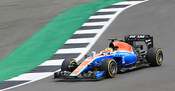 File photo dated 12/07/16 of Manor F1 Team's Rio Haryanto during mid season testing at Silverstone Circuit, Towcester, as the Manor Formula 1 team is to cease trading after administrators failed to secure fresh funding for the firm, resulting in the loss of around 200 jobs.